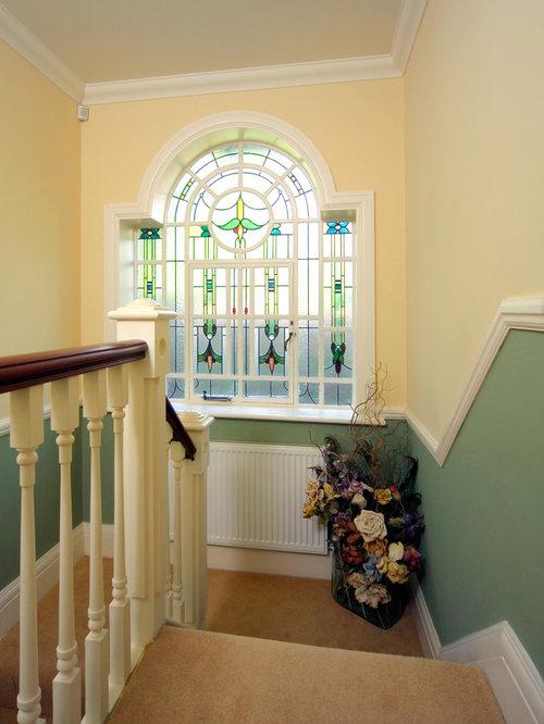 Two Tone Paint Hallway Design Ideas Pictures Remodel Decor