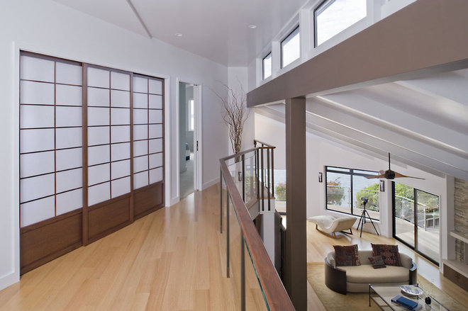 Contemporary Hall by Camber Construction