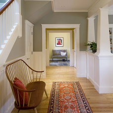 Traditional Hall by Jan Gleysteen Architects, Inc