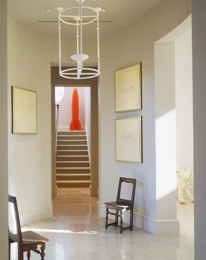 Contemporary Hall by Martha Angus Inc.