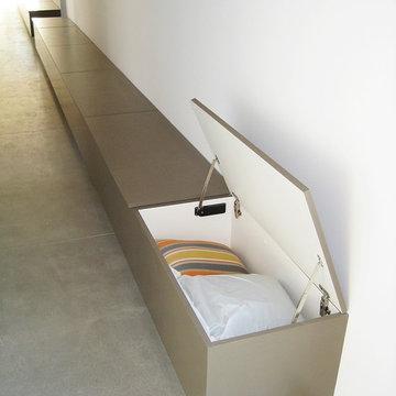 Hallway Bench Seats with Storage
