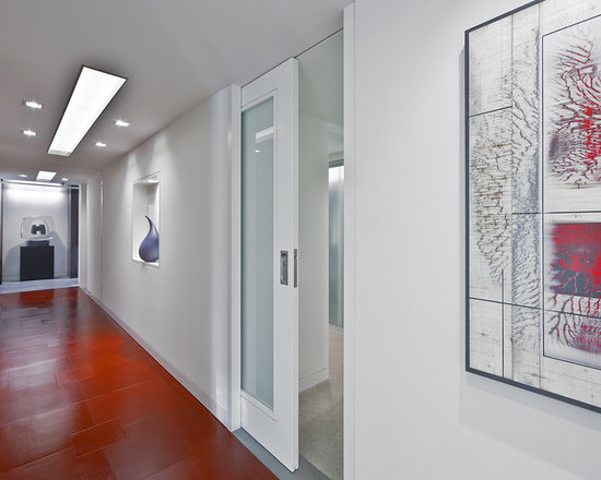 Glass Pocket Doors frosted glass pocket door | houzz