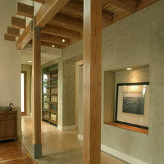 modern hall by Equinox Architecture Inc. - Jim Gelfat