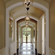 Traditional Hall by Orren Pickell Building Group