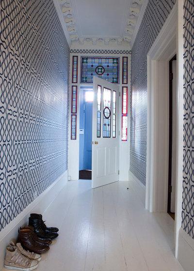 Contemporary Hallway & Landing by Goodchild Interiors