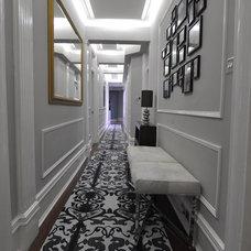 Contemporary Hall by Kia Designs