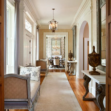 Transitional Hall by LGB Interiors