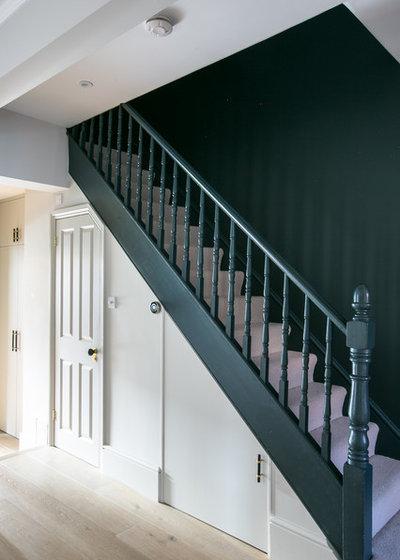 Contemporary Hallway & Landing by Otta Design