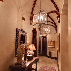 traditional hall by R.J. Gurley Custom Homes