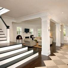 Contemporary Hall by Raymond Interiors