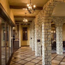 Mediterranean Hall by Rentfrow Design, LLC