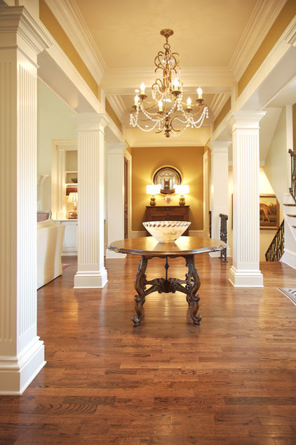 Traditional Hall by Elizabeth Anne Star Interiors