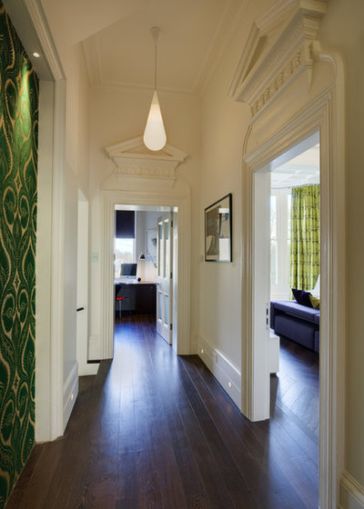 Contemporary Hallway & Landing by STEPHEN FLETCHER ARCHITECTS