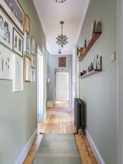 Hallway Ideas Amp Photos With Green Walls
