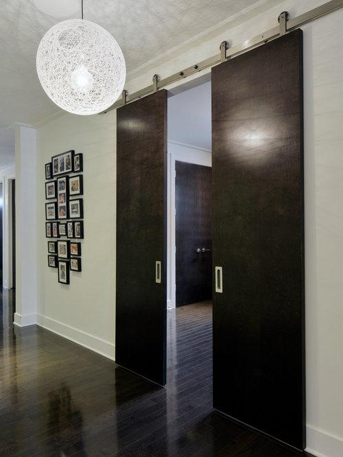 double barn door houzz. Black Bedroom Furniture Sets. Home Design Ideas