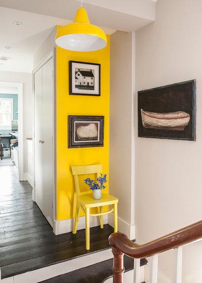 Eclectic Hallway & Landing by Shape Architecture Ltd