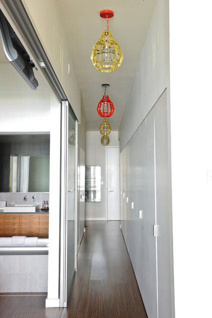 Modern Hall by A Good Chick To Know
