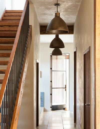 Country Hallway & Landing by Jute Interior Design