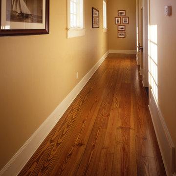 Heart Pine Wide Plank Floor