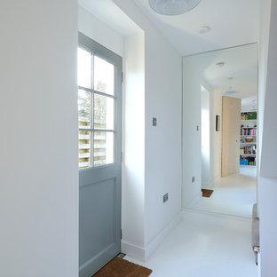 Heath Cottage mirrored hall