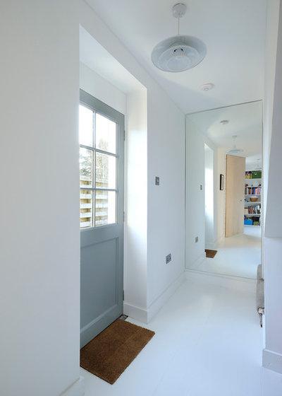 Scandinavian Hallway & Landing by Brown + Brown Architects