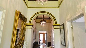 Heritage Restoration of a 1910 Villa Hallway