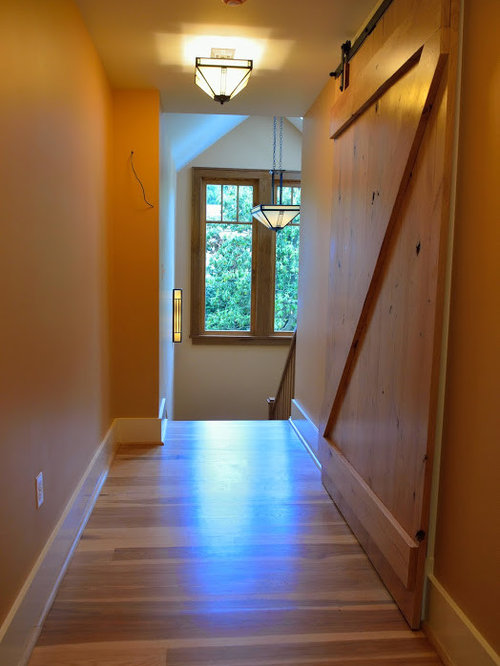 Hickory Wide Plank Flooring For An Arts And Crafts Home