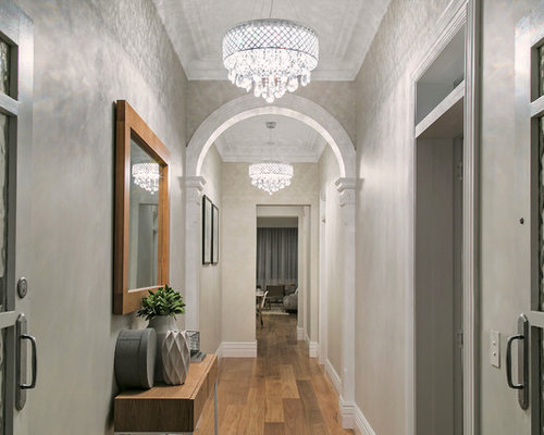 Design Ideas For A Transitional Hallway In Sydney.