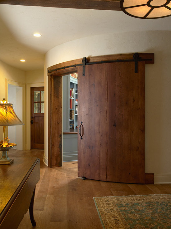 Curved Sliding Door Houzz