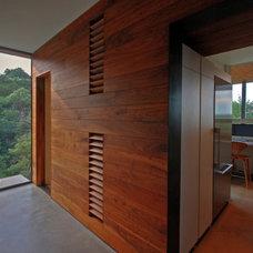Modern Hall by Cornerstone Architects