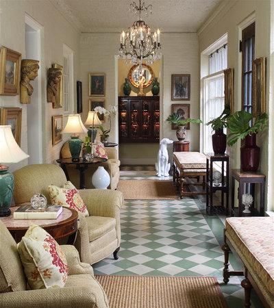 Traditional Hall by Walter Studio Interior Design
