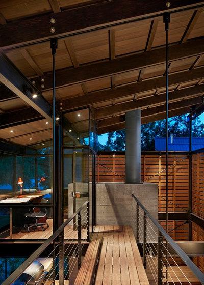 Case di vetro e legno