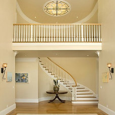 Traditional Hall by James Witt Homes
