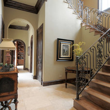 Hall by Panache development & construction Inc Custom home