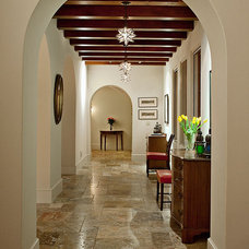 Mediterranean Hall by Allen Construction