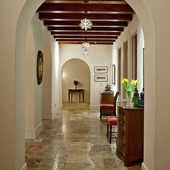 mediterranean hall by Allen Associates