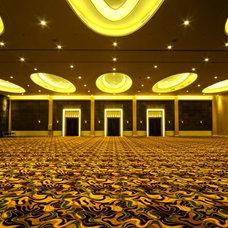 Contemporary Hall by Eric Hawawinata Architects
