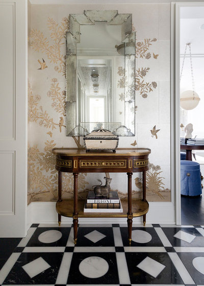 Eclectic Hall by Summer Thornton Design, Inc
