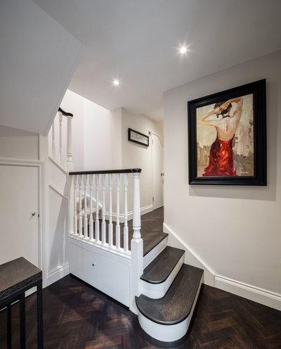 Scandinavian Hallway & Landing House Extension