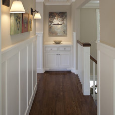 Traditional Hall by Julie Williams Design