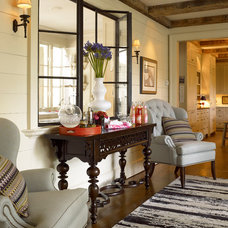 Eclectic Hall In Atlanta Homes with Thomasville Furniture