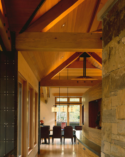 Contemporary Hall by Charles Cunniffe Architects Aspen