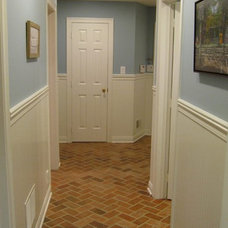 Traditional Hall by Inglenook Tile Design