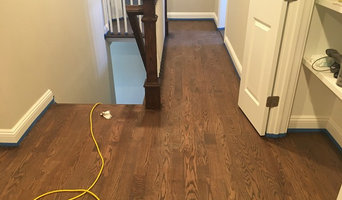 Install, Sand, Stain, and Finish