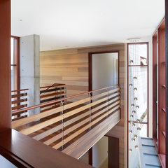 modern hall by Rockefeller Partners Architects