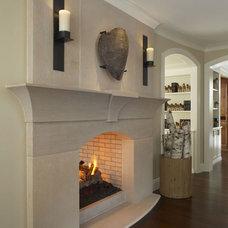 Traditional Hall by CBI Design Professionals, Inc.