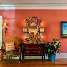 Traditional Hall by Bill Mathews Photographer, Inc