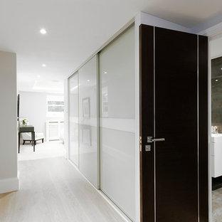 Hallway - contemporary hallway idea in London
