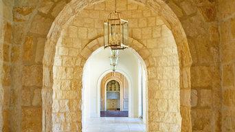 Interior detail shots, French Mediterranean