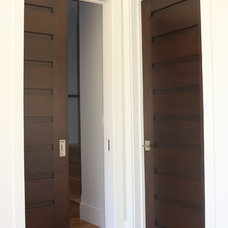 interior doors by Appalachian Woodwrights